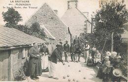 PLOUNERIN (Côtes D'Armor) - Le Jeu De Boules, Chez TROUSSEL - Animée - Boules Lyonnaises - Other Municipalities