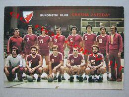 "Yugoslavia / Handball Club "" RED STAR "" - Champion Of SFRJ 1955, 1956. ( Big Postcard ) - Balonmano"