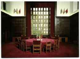 Schloss Cecilienhof - Gedenlstätte - Konferenzsaal - Potsdam