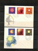 Poland / Polska 1965 Astronomy International Year Of The Quiet Sun FDC - Astronomie