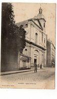 35 - RENNES - Eglise Saint Sauveur - Animée (N161) - Rennes