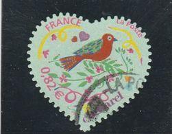FRANCE 2007 COEUR CACHAREL YT 51 OU  3748B OBLITERE - Frankreich