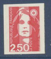 N° 3 Marianne Du Bicentenaire Auto Adhesif  Faciale 2,50 F - Luchtpost