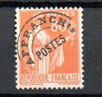 G141 France Préo N° 75 ** à 10% De La Côte. A Saisir !!! - Préoblitérés