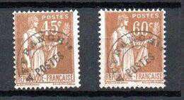 G141 France Préo N° 71 + 72 ** à 10% De La Côte. A Saisir !!! - Precancels