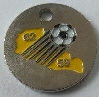 Jeton De Caddie - Sport - 62/69 - LIGUE NORD - PAS DE CALAIS De FOOTBALL - En Métal - - Jetons De Caddies