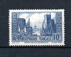 J1-19 France N° 261 ** à 10% De La Côte. A Saisir !!! - Ongebruikt