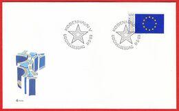 DENMARK - 1989 FDC «3rd Direct European Parliament Election» Mi# 949 - Danimarca