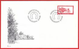 DENMARK - 1989 FDC «Danish Agricultural Museum Centenary» Mi# 953 - Danimarca