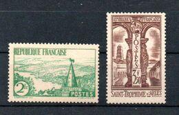 J1-2 France N° 301 + 302 ** à 10% De La Côte. A Saisir !!! - France