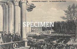 Avènement De Léopold II - La Revue Place Des Palais - Personaggi Famosi