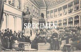 Avènement De Léopold II - Prestation De Serment - Personaggi Famosi