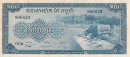 1 Billets - BANQUE NATIONALE DU CAMBODGE  100 ( NEUF ) - Cambogia