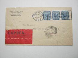 1926 , Expres - Brief Nach Deutschland - 1913-47 (Christian X)