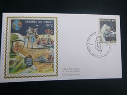 "BELG.1972 1622 FDC Hastiere Lavaux Zijde/soie  : ""Dag Van De Postzegel - Journée Du Timbre "" - 1971-80"