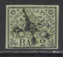 Etats Pontificaux 1852 Yvert 3 (o) B Oblitere(s) - Etats Pontificaux