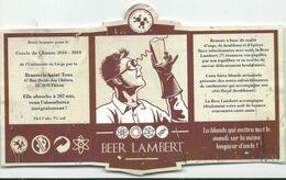 étiquette Décollée Bière Beer Lambert Brasserie Saint Tous Fléron - Beer