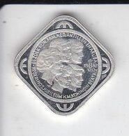 MONEDA DE PLATA DE ARUBA DE 50 CENT ECU DEL AÑO 1992 (COIN) SILVER,ARGENT. - Antillas Nerlandesas