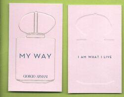 ARMANI * MY WAY * DK * NEW - Modernes (à Partir De 1961)
