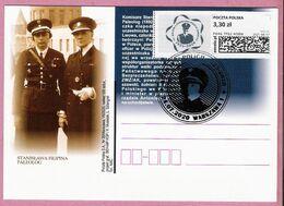 Poland 2020, WARSZAWA, 95 Years Of Women In Police,(2) LIMITED EDITION 550 Pcs Of Postcards Issued By Poczta Polska - Police - Gendarmerie