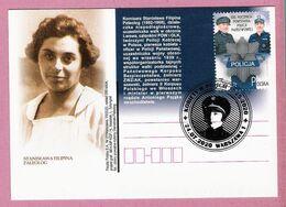 Poland 2020, WARSZAWA, 95 Years Of Women In Police,(3) LIMITED EDITION 550 Pcs Of Postcards Issued By Poczta Polska - Police - Gendarmerie