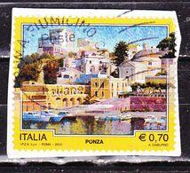 Italia 2013 Ponza   Su Frammento - 2011-...: Oblitérés