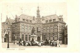 Utrecht, Universiteit Met Veel Volk 1900 - Utrecht