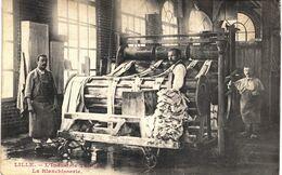 Carte  POSTALE  Ancienne De  LILLE - Industrie Tulliére, La Blanchisserie - Lille