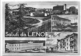 Saluti Da Leno (Brescia). Vedutine. - Brescia