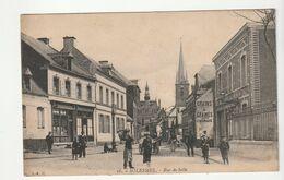 Nord > Solesmes, Rue De Selle , Animée Avec Commerces - Solesmes