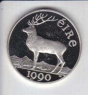 MONEDA DE PLATA DE IRLANDA DE 10 ECU DEL AÑO 1990  (COIN) SILVER-ARGENT - Irlanda