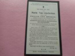 D.P.-MARIA VAN LIJSEBETTEN °HAMME 15-10-1833 +MOERZELE 11-8-1918 - Religion & Esotérisme