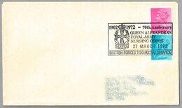 70th Anniversary QUEEN ALESANDRA'S ROYAL ARMY NURSING CORPS - Enfermeria Del Ejercito. BFPS 1972 - Medicine