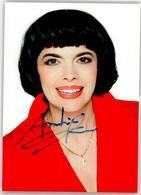 52980424 - Autogramm  Mathieu, Mireille - Sänger Und Musikanten