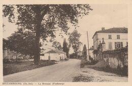 CARTE POSTALE    BRIZAMBOURG 17  La Brousse (faubourg) - Francia