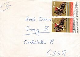 DDR - BRIEF 1974 Mi #1969 ROSTOCK - PRAG /AS92 - DDR