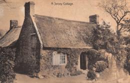 R442064 A Jersey Cottage. Carr Series - Ansichtskarten