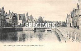 307 Vue Prise Du Pont De Paille  - Bruges - Brugge - Brugge
