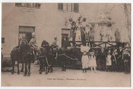 CPA 83 TOURVES Fête De La Mi Carême 1911 Cavalcade De 14 Chars Char Des Gaulois Monument Druidique - Otros Municipios