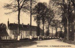 DPT 61 REMALARD La Gendarmerie Et Route De Bellou - Remalard
