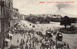 R442782 Napoli. Riviera Di Chiaia. Con Processione - Cartoline