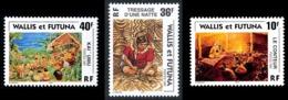 WALLIS ET FUTUNA 1997 - Yv. 502 503 Et 504 **   Faciale= 0,72 EUR - Scènes Wallisiennes (3 Val.)  ..Réf.W&F22803 - Unused Stamps