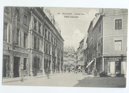 25/CPA - Besançon - Grande Rue - Palais Granvelle - Besancon