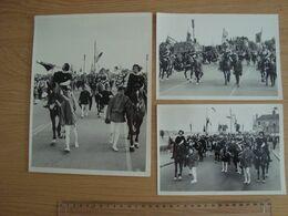 LOT DE 5 PHOTOS FETE JEANNE D'ARC ORLEANS VERS 1960 - Beroemde Personen