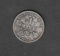 Deutschland Deutsches Kaiserreich 1 Mark 1914 A Kursmünze Silber 900 Kupfer 100 - [ 2] 1871-1918 : Impero Tedesco