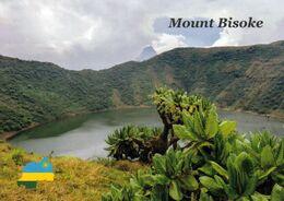 1 AK Ruanda * Kratersee Im Vulkan Bisoke - Er Gehört Zu Den Acht Virunga-Vulkanen Und Liegt Im Vulkan-Nationalpark * - Rwanda