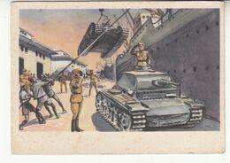 Ww2 - Wechmacht - Wüstenkrieg In Nord-afrika - Das Deutsche Afrikakorps Lander überraschend In Der Cyrenaika Lybie - Weltkrieg 1939-45