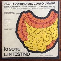 1973 ALLA SCOPERTA DEL CORPO UMANO Di Pietro Valdoni IO SONO L'INTESTINO   / Giunti Nardini Editore - Médecine, Biologie, Chimie