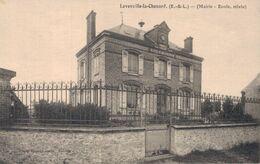 28 LEVESVILLE LA CHENARD Mairie Ecole Mixte - Other Municipalities