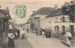 28 6 LAONS Bureau De Poste Grande Rue - Other Municipalities